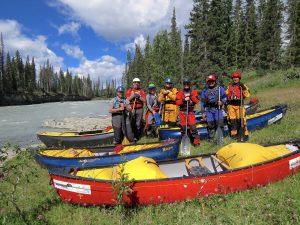 Image of Canoeists